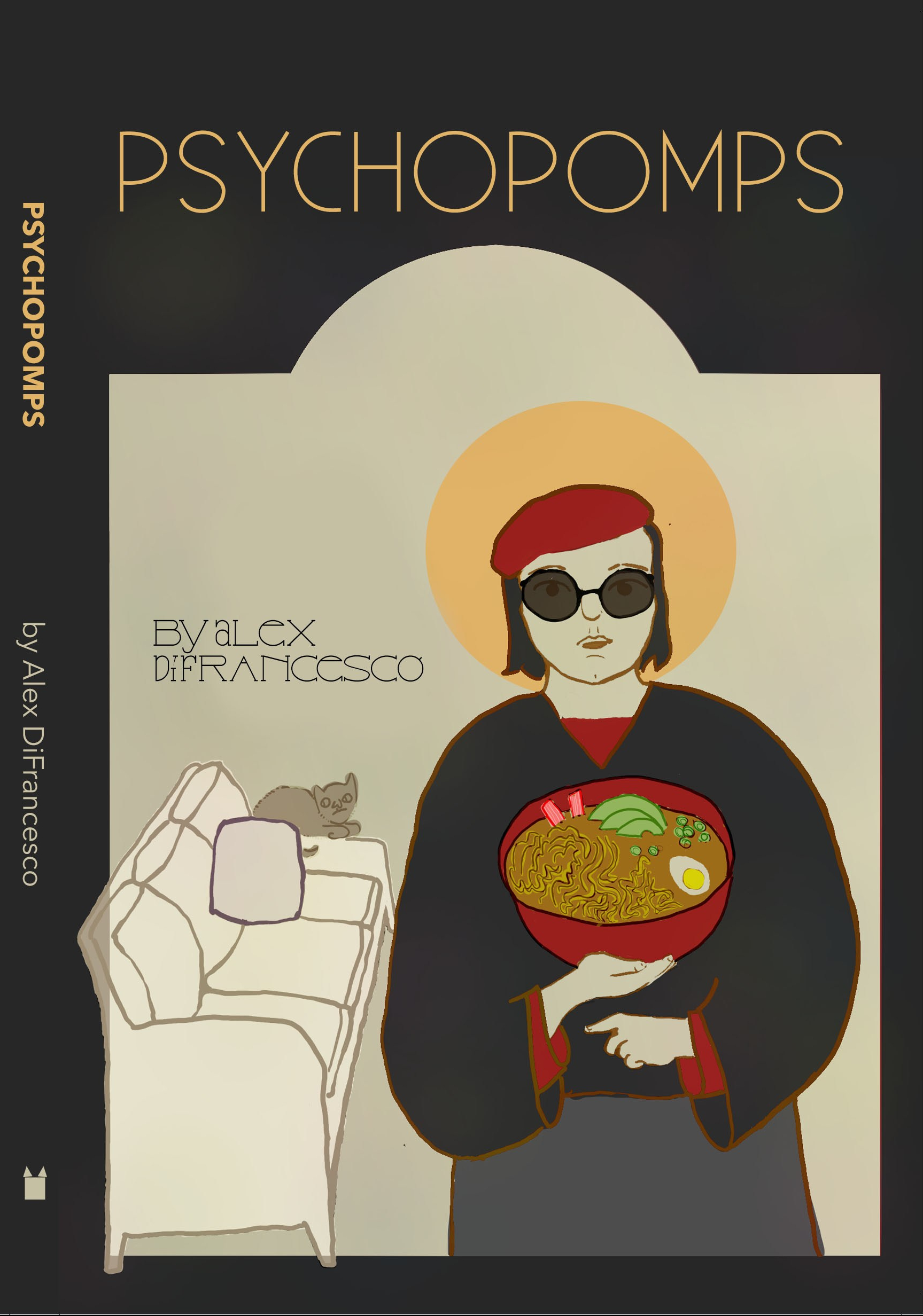 book cover: Psychopomps
